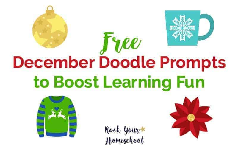 Free December Doodle Prompts to Boost Learning Fun