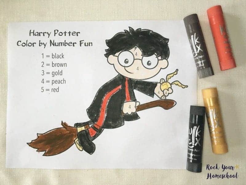 Free Printables for Harry Potter-Inspired Coloring Fun - Rock Your ...