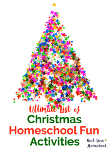 Make special memories with your kids in your homeschool this Christmas! Find ideas & inspiration for ways to celebrate the holidays in homeschool math, writing, science, & more. Suggestions were carefully selected to be as mess-free & stress-free as possible so you can enjoy holiday celebrations with your kids.