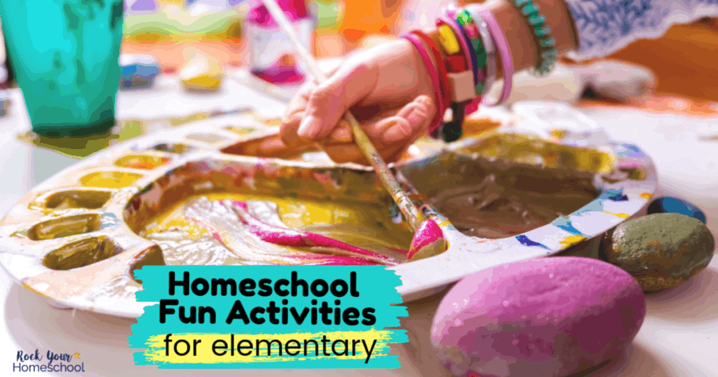 You can easily add fun to your homeschool day with these homeschool fun activities for elementary years.