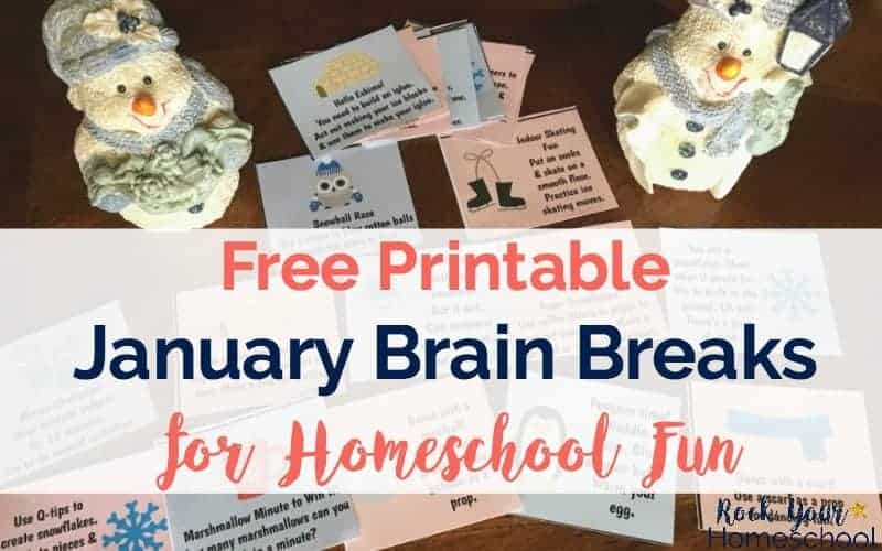 January Brain Breaks are awesome ways to boost learning fun at home.