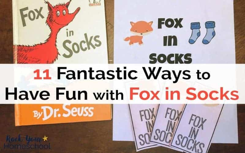 Have a blast with these 11 fantastic ways to have fun with Fox in Socks.