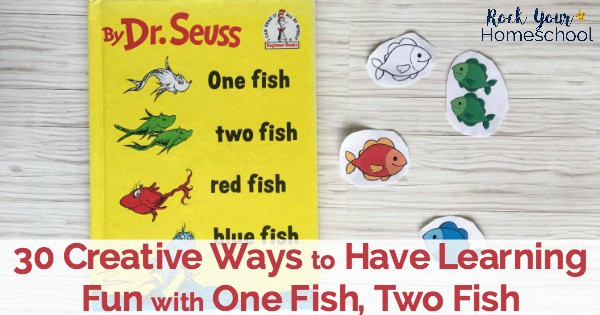 photo about One Fish Two Fish Printable identify 30 Inventive Methods towards Consist of Discovering Exciting with 1 Fish, 2