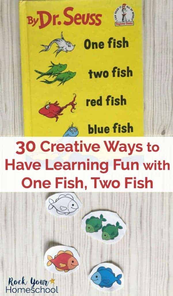 graphic about One Fish Two Fish Printable titled 30 Resourceful Techniques toward Comprise Studying Enjoyable with One particular Fish, 2