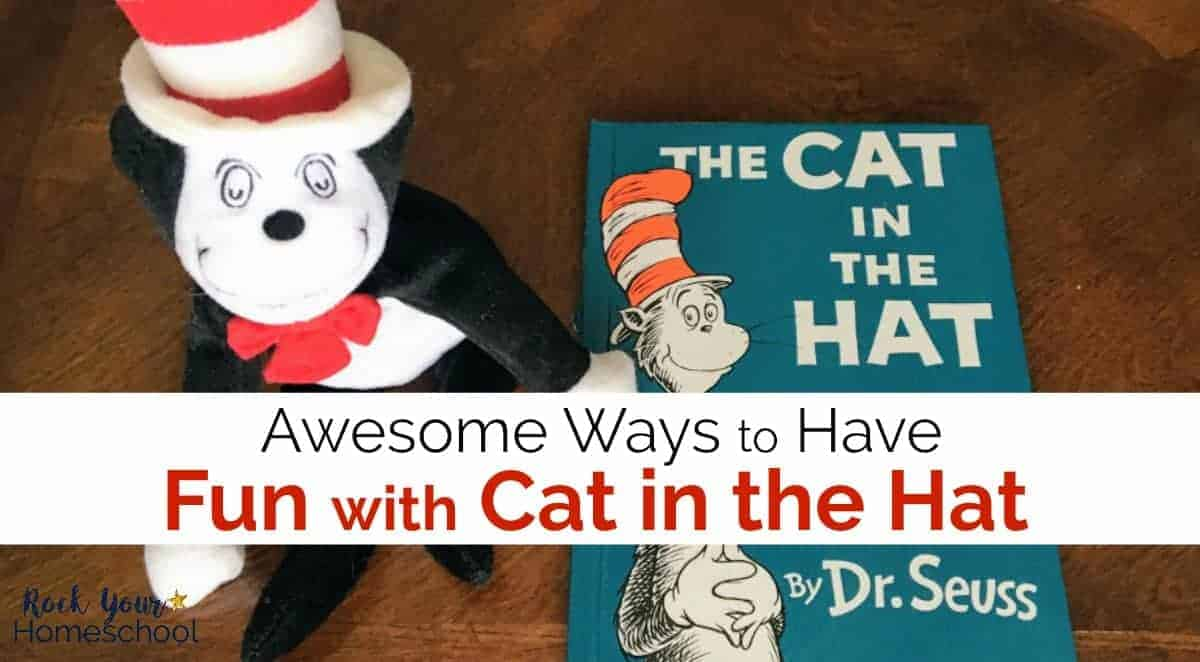 Boost the learning fun with this favorite Dr. Seuss book! Great ideas for crafts, activities, & more for fun with Cat in the Hat.