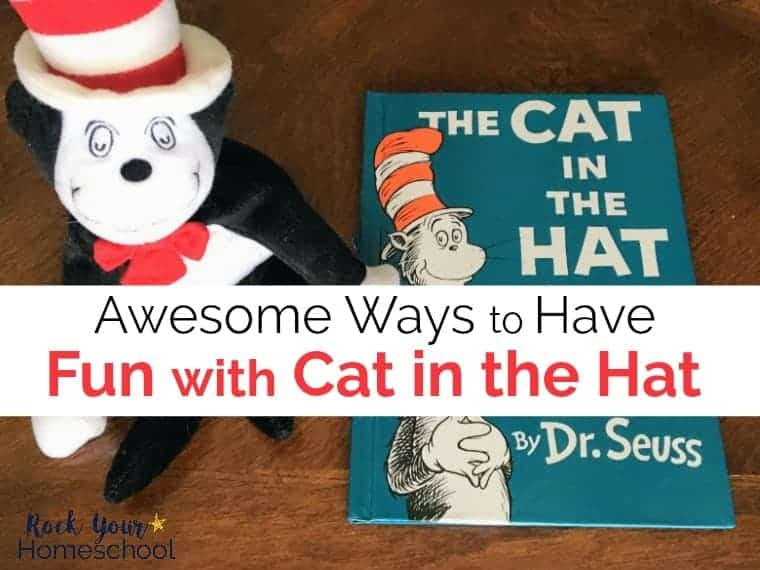 Have fun with Cat in the Hat! Get ideas & inspiration for Dr. Seuss-Inspired crafts, activities, games, & more with this favorite book.