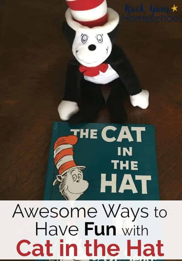 Have a blast with Cat in the Hat! Get ideas & inspiration for crafts, games, activities, & more to extend the learning fun with this Dr. Seuss book.