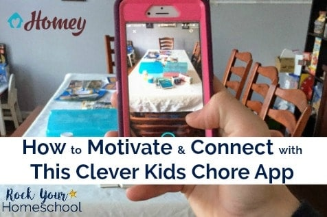Find out how Homey, a kids chore app, has helped our family motivate, teach, & inspire our kids to build financial & interpersonal skills.