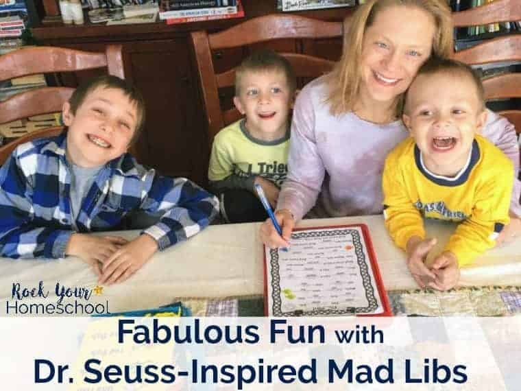 Have a blast with kids with these Dr. Seuss-Inspired Mad Libs. Great for family, classroom, parties, & homeschool fun.