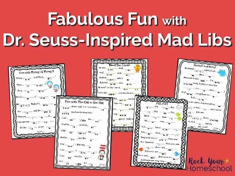 picture relating to Mad Libs for Kids Printable identify Amazing Entertaining with Cost-free Dr. Seuss-Influenced Insane Libs - Rock