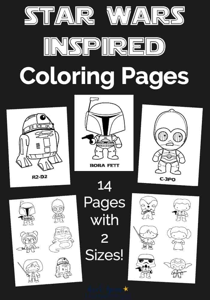 Free Star Wars Inspired Coloring Pages For Kids Rock Your Homeschool