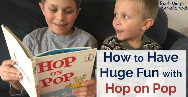 You can have tons of fun with Hop on Pop & Dr. Seuss with these great ideas for games, activities, snacks, & more!