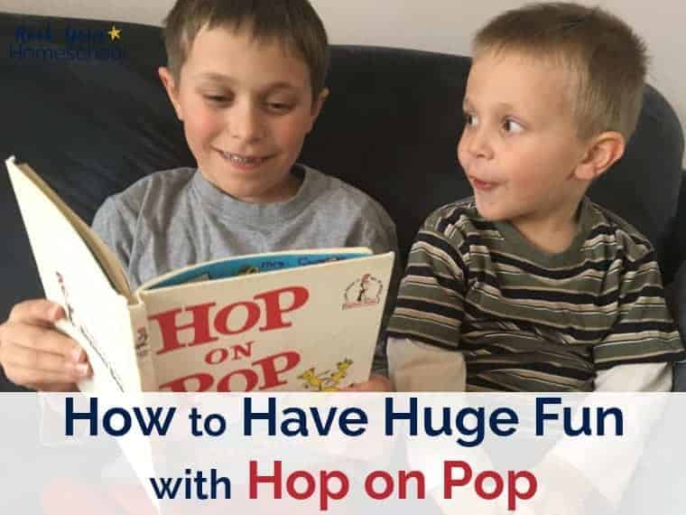 Extend the learning fun with Hop on Pop & Dr. Seuss. Awesome ideas for games, activities, snacks, & more!
