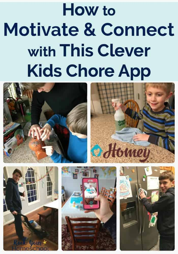 Find out how our family with five boys is using this clever kids chore app to motivate & teach. Great for accountability, relationship building, & learning about finances.
