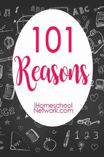 Discover 101 reasons to add homeschool fun to your day & much more!