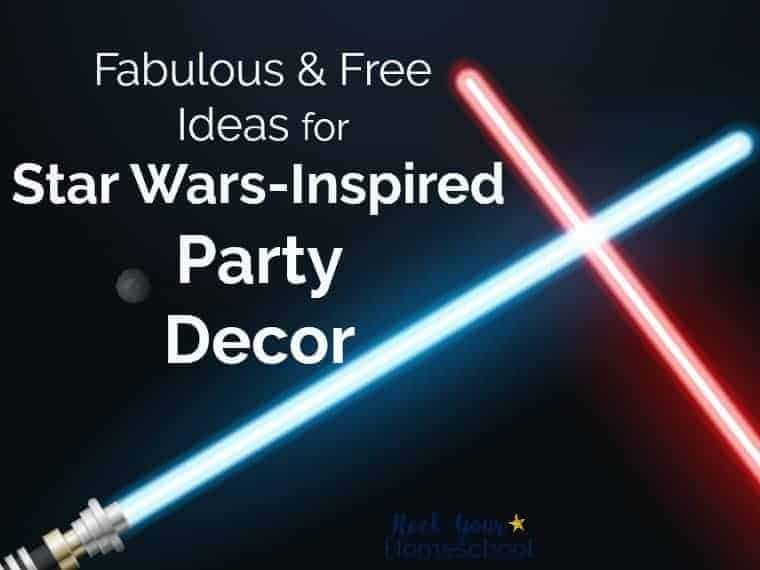 Fabulous & Free Ideas for Star Wars-Inspired Party Decor