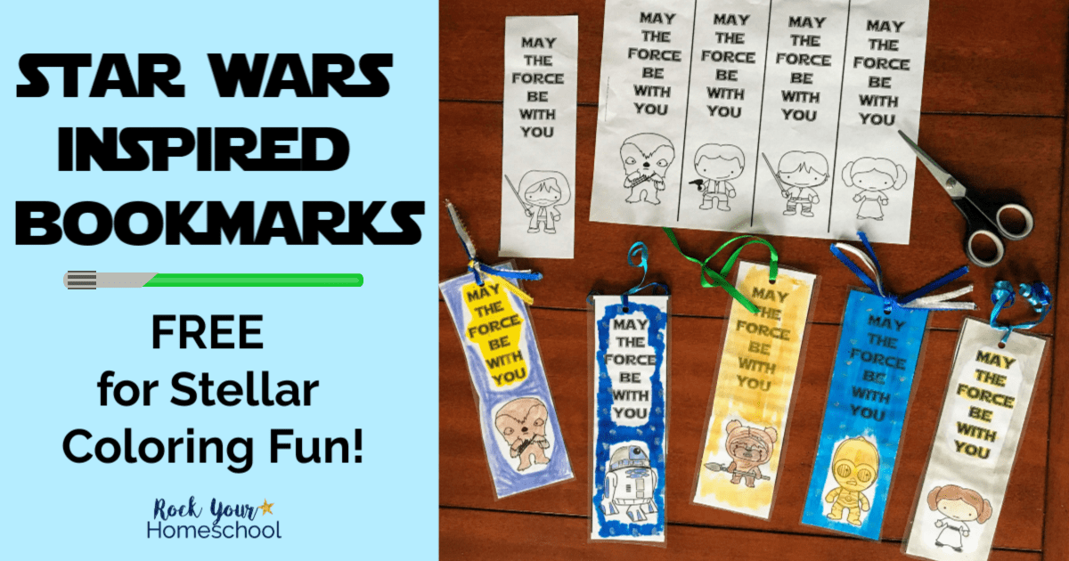 graphic relating to Star Wars Bookmarks Printable named No cost Star Wars-Encouraged Coloring Bookmarks for Children - Rock
