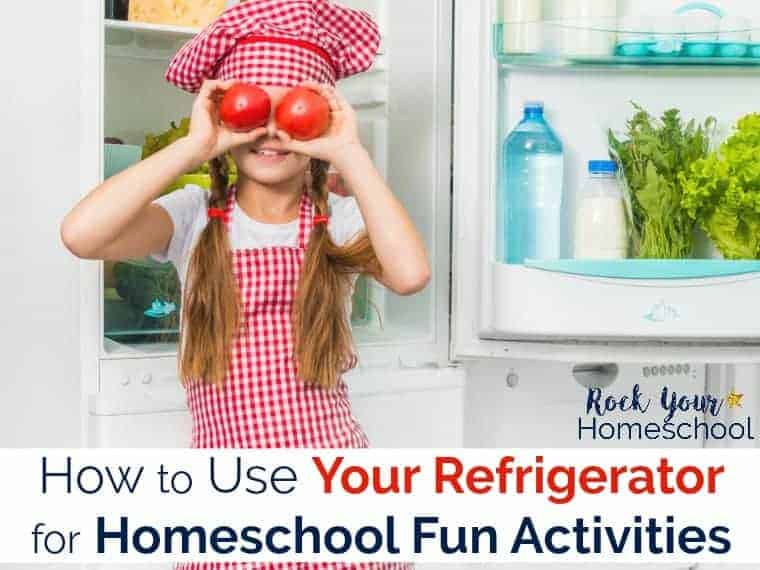 Want great ways to boost learning fun at home using what you have? Find out how to use your refrigerator for homeschool fun activities!