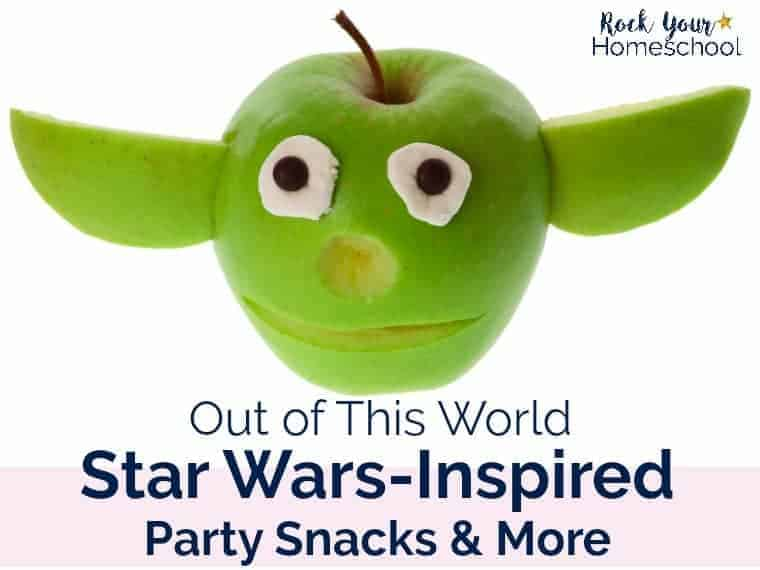 Out of This World Star Wars-Inspired Party Snacks & More