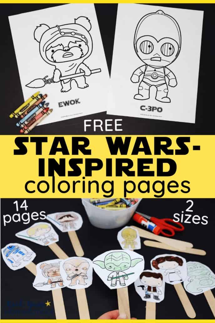 Free Star Wars-Inspired Coloring Pages for Kids
