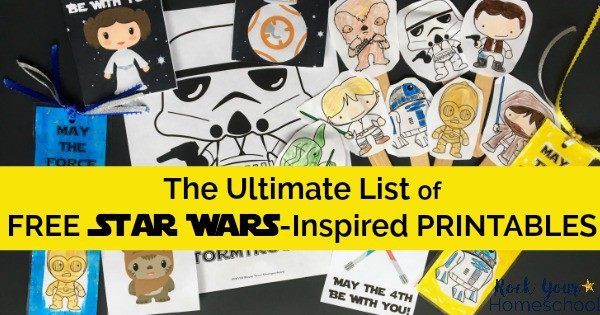 You can have stellar fun with this ultimate list of free Star Wars-Inspired printables.