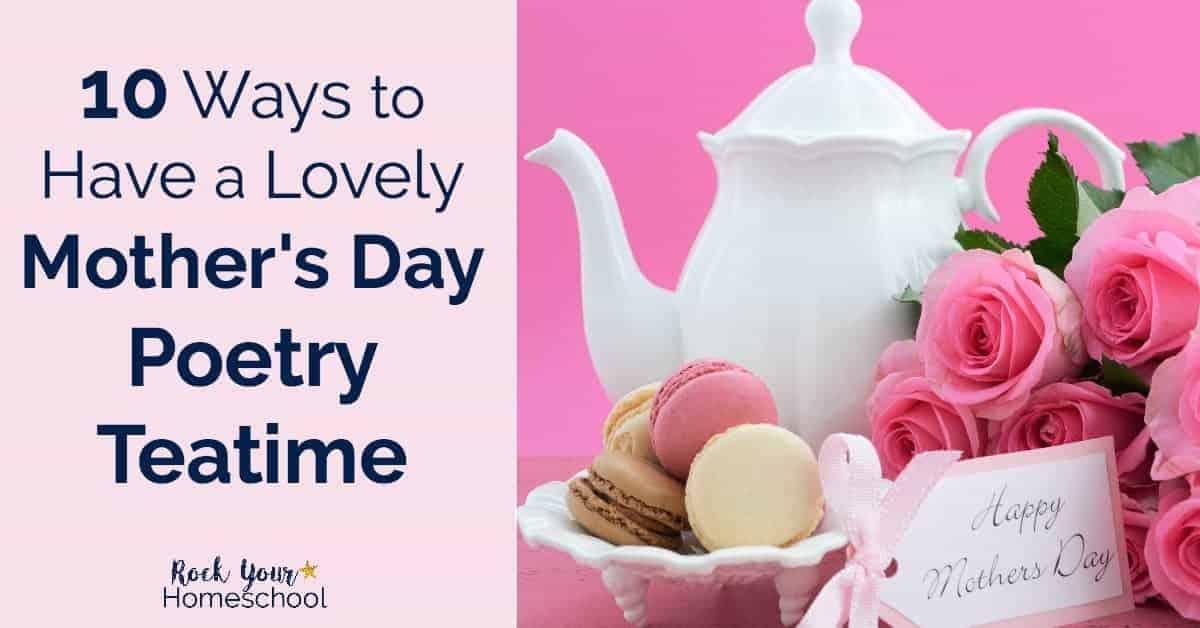 image regarding Free Printable Mothers Day Poems named 10 Practices towards Comprise a Attractive Moms Working day Poetry Teatime - Rock