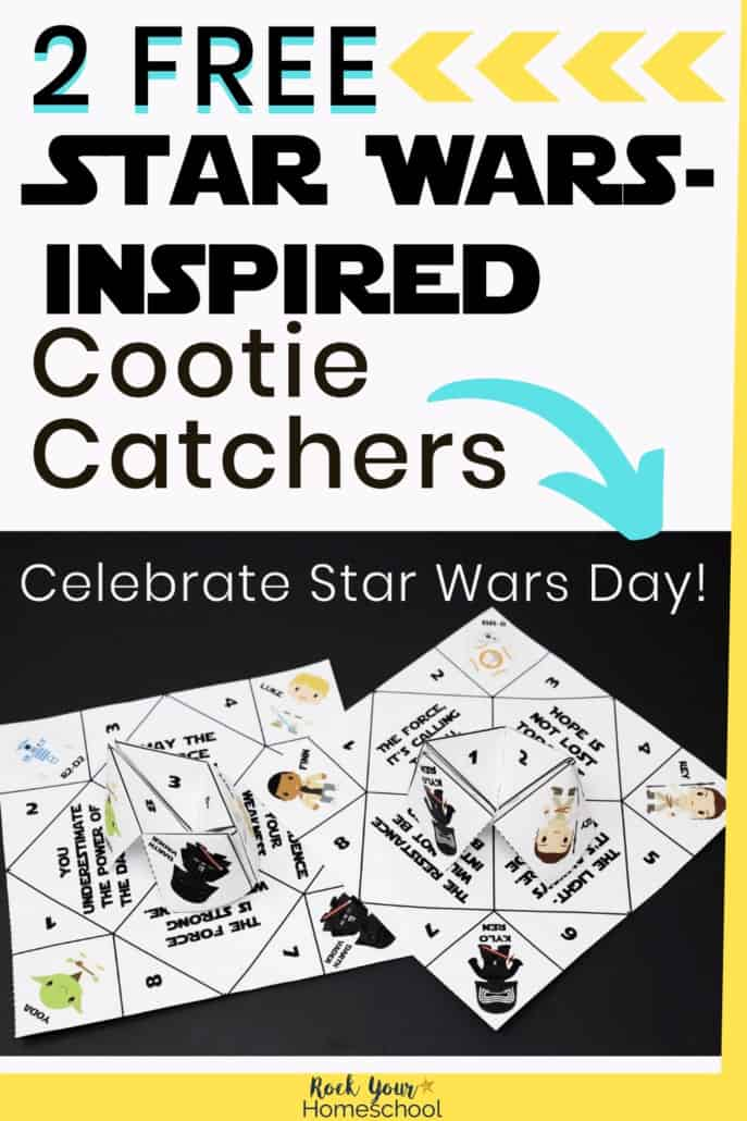 2 Free Star Wars-Inspired Origami Fortune Tellers – UPDATED 2021