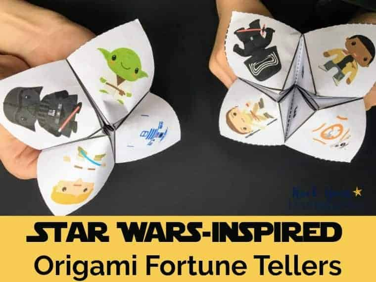 2 Free Star Wars-Inspired Origami Fortune Tellers - UPDATED 2019