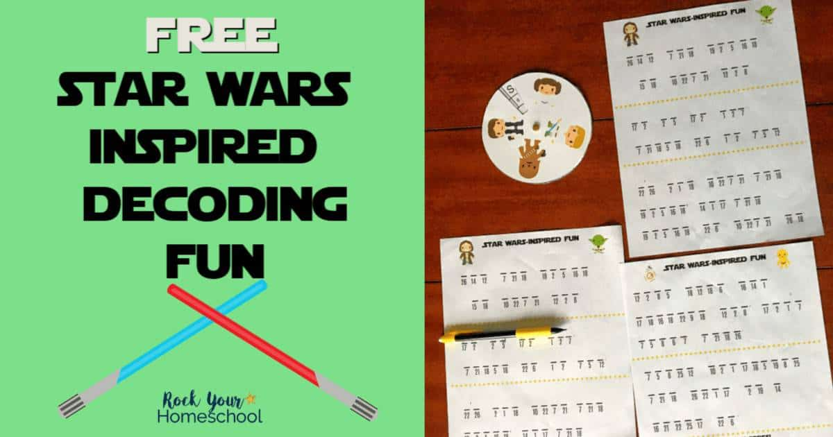 Have some stellar fun with these free Star Wars-Inspired Decoding Fun activities.
