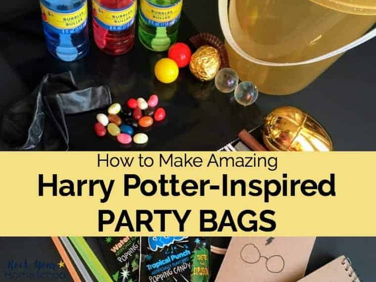 How to Make Amazing Harry Potter-Inspired Party Bags