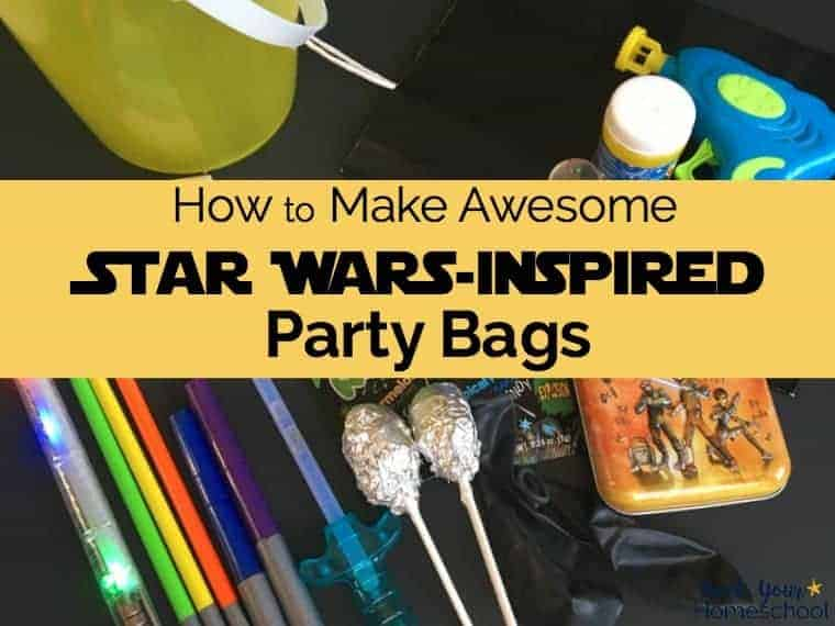 How to Make Awesome Star Wars-Inspired Party Bags