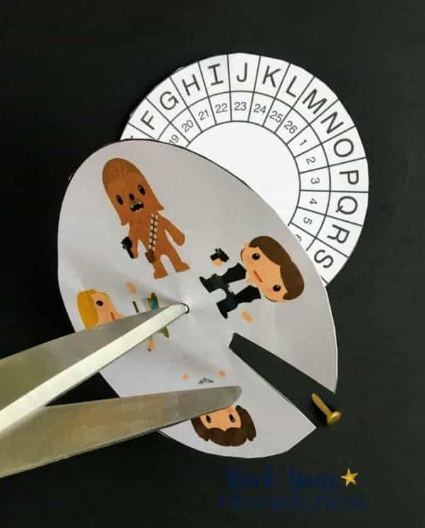 These Star Wars-Inspired Activities for Decoding fun are easy to make.