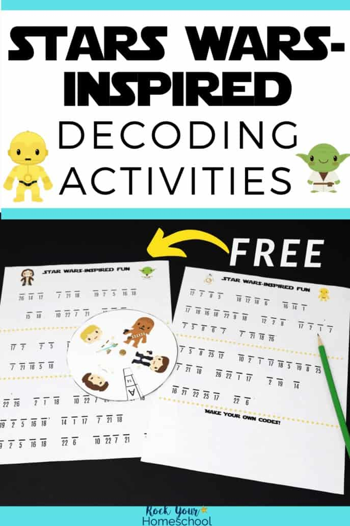 Free Star Wars-Inspired Activities for Decoding Fun