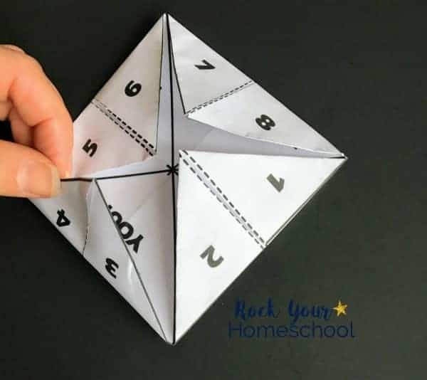 Discover how to easily create these 2 free Star Wars-Inspired origami fortune tellers.
