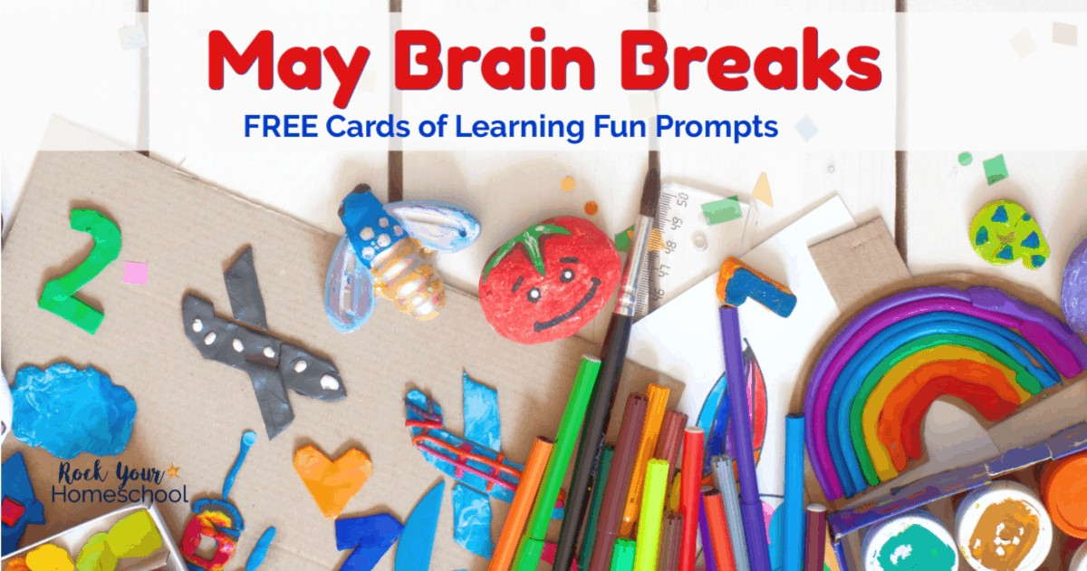 These free May Brain Breaks for kids cards are awesome ways to include easy learning fun activities into your day.