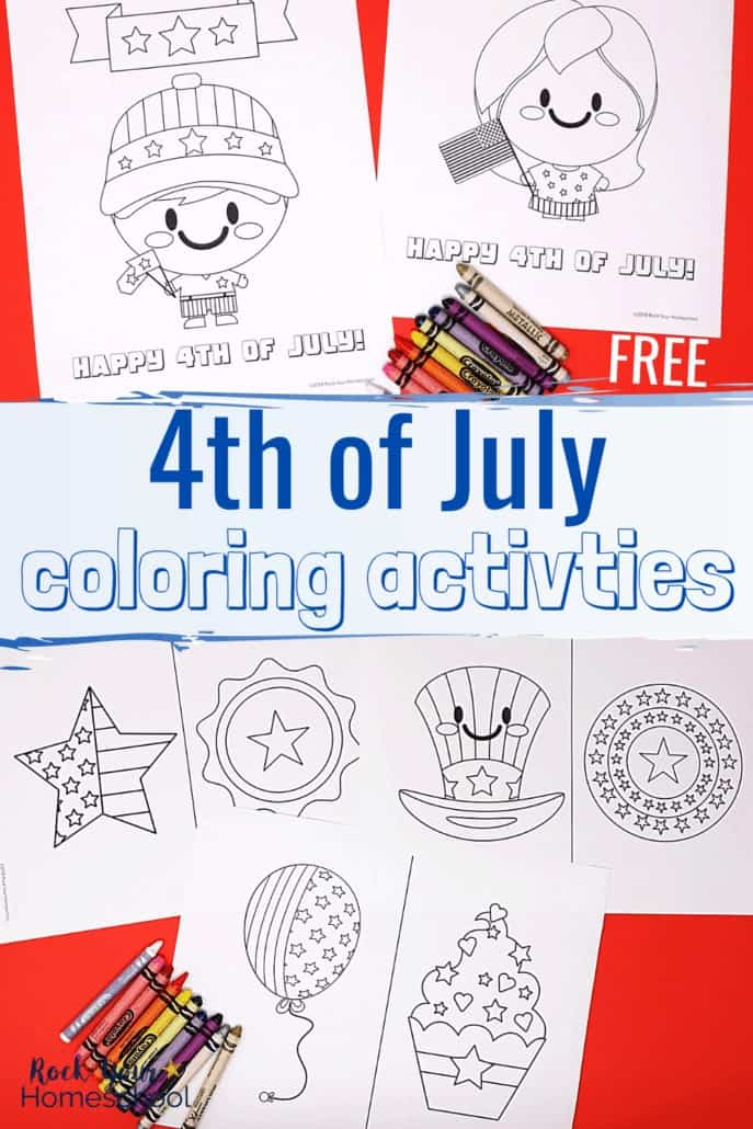 Free 4th of July Coloring Pages for Easy Holiday Fun with Kids