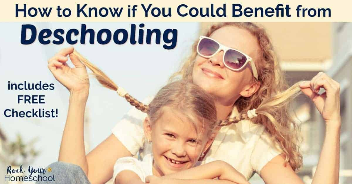 Discover if you could benefit from deschooling! Could this process help your family make a smooth transition from public school to homeschooling?