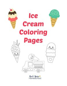 thumbnail of Ice Cream Coloring Pages