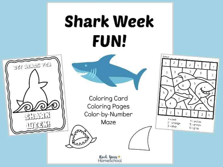 Make Shark Week Fun with kids with these easy-to-do activities.