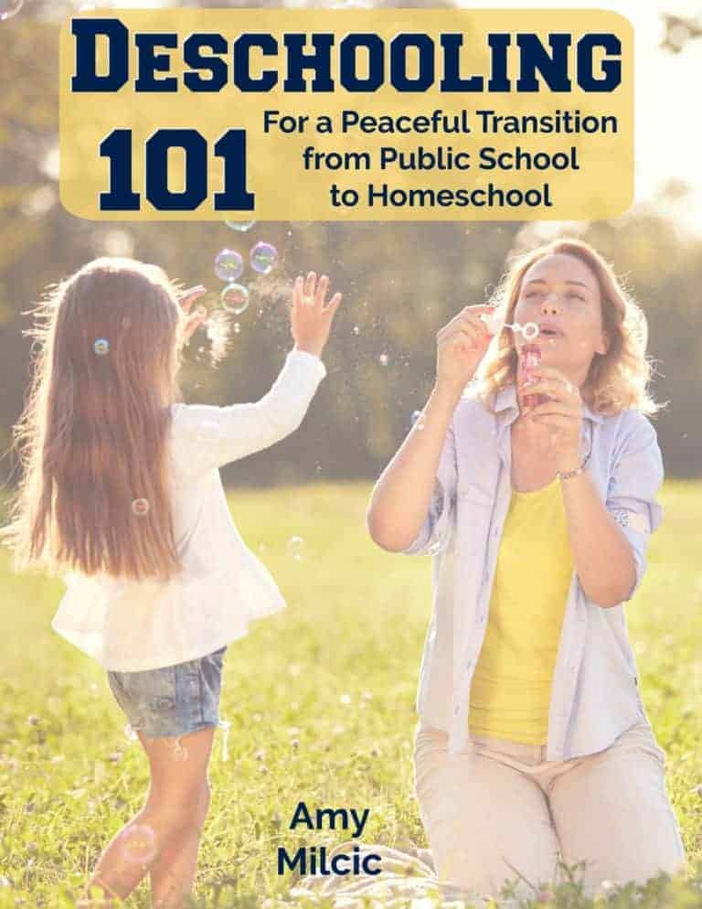 Deschooling 101: For a Peaceful Transition from Public School to Homeschool