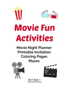thumbnail of Kids Activity Pack for Family Movie Night Fun