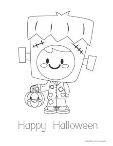 Free Halloween Coloring Pages Cards For Special Holiday Fun Rock Your Homeschool