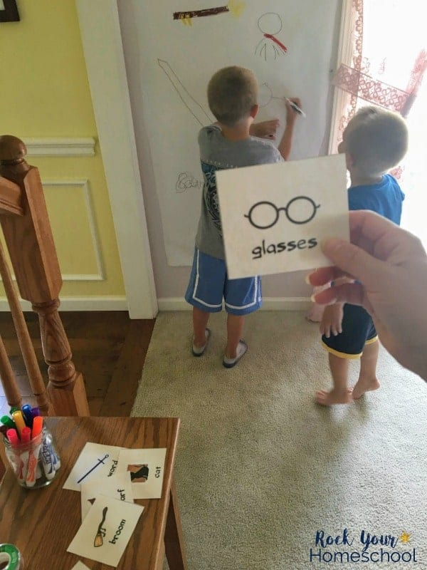 Enjoy magical fun with this free Harry Potter-Inspired Drawing Game!