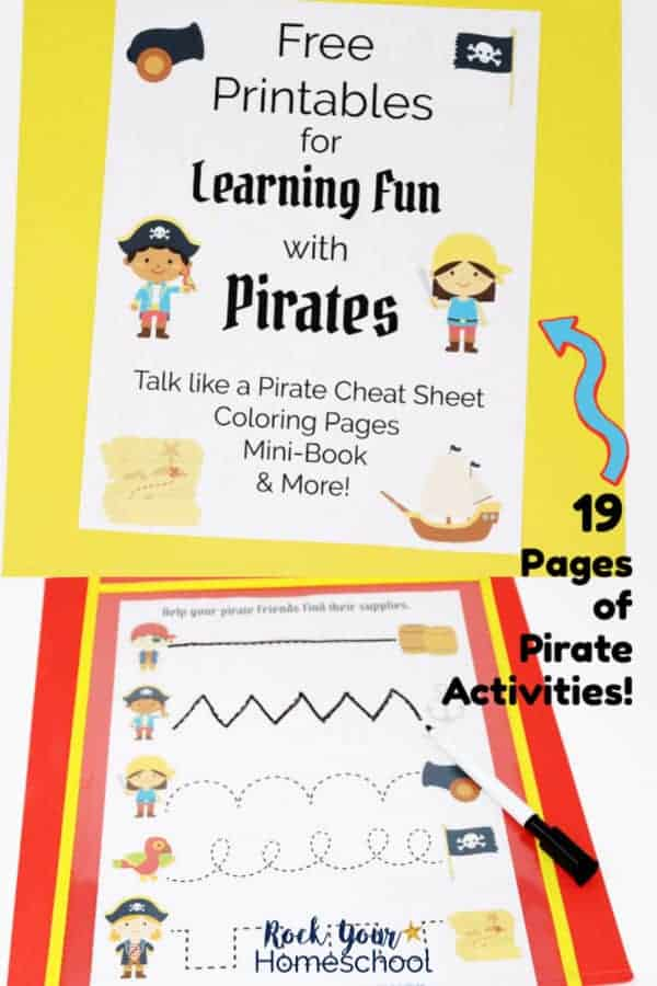 Free Printables for Learning Fun with Pirates