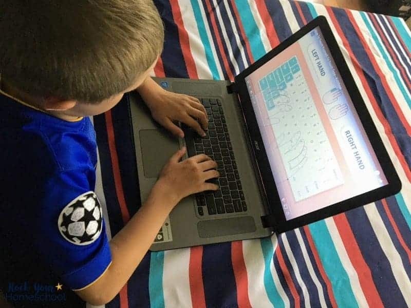 These free typing games for kids are awesome ways to boost your homeschool.