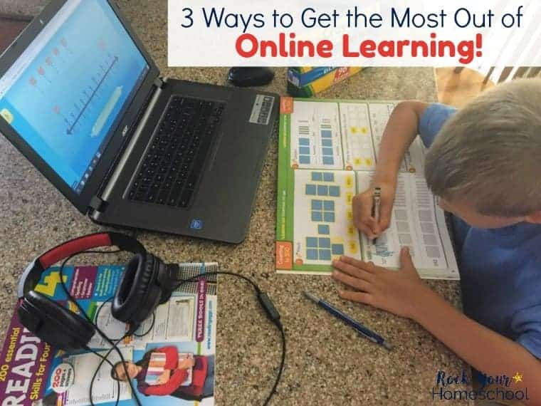 3 Ways to Help Your Child Get the Most Out of Online Learning