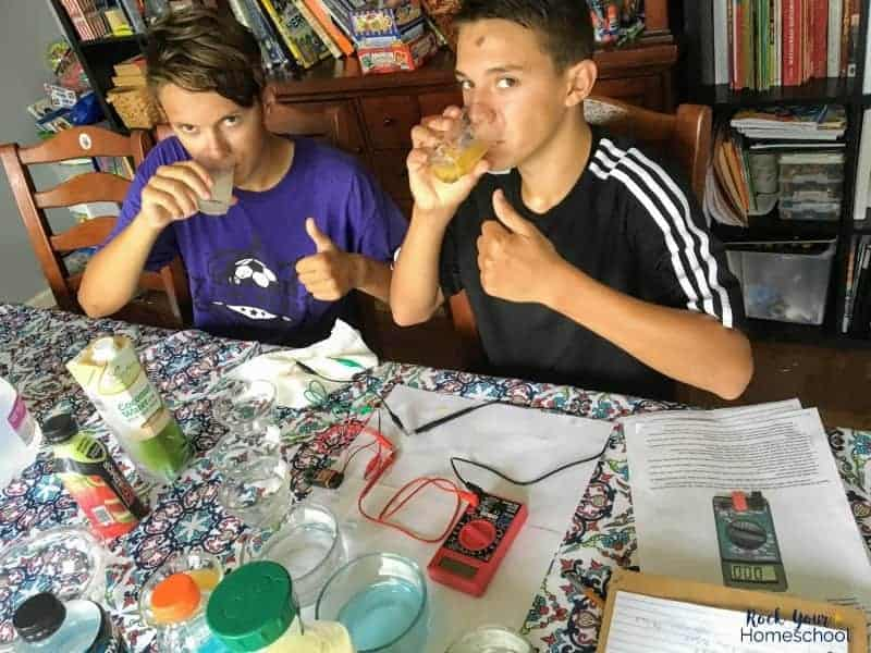 This homeschool science project is a fabulous way to teach your kids about proper nutrition & hydration.