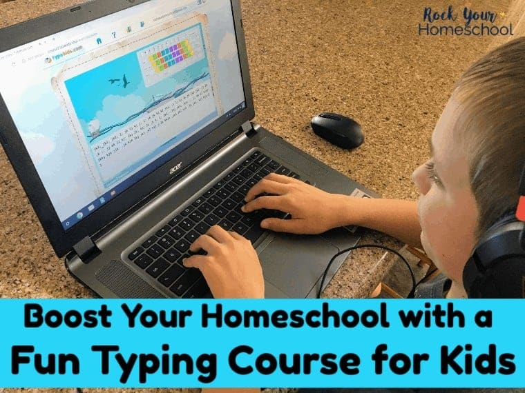 How to Boost Your Homeschool with A Fun Typing Course for Kids