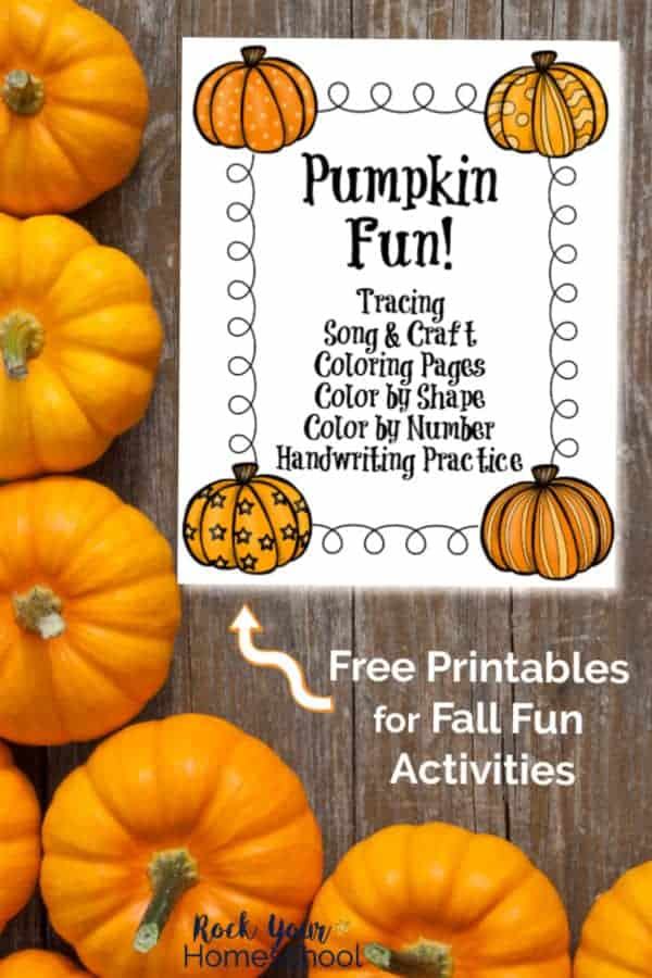 Free Learning Fun with Pumpkins Activities & More