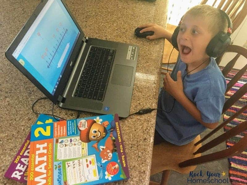 Boost online learning for your kids with these 3 tips, especially awesome workbooks!